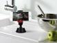 Автомобильный держатель для смартфона с креплением на стекло/торпеду Baseus Smart Black