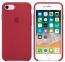 Бордовый силиконовый чехол для iPhone 8/7 Silicone Case