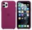 Чехол для iPhone 11 Pro Max Silicone Case силиконовый малиновый