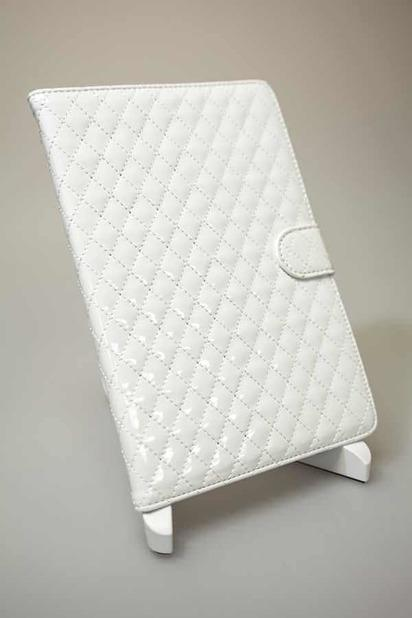 Белый чехол для iPad Mini/Retina Stitching Case -