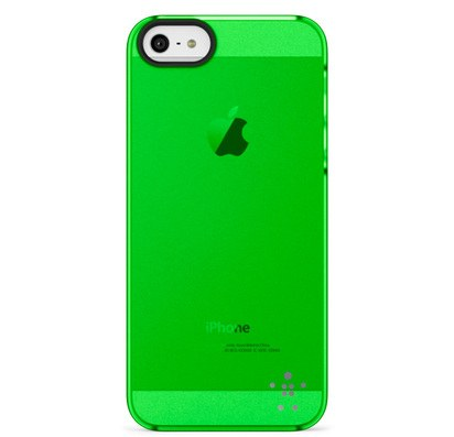 Зеленый чехол для iPhone 5/5s Belkin Shield Sheer Matte Case -