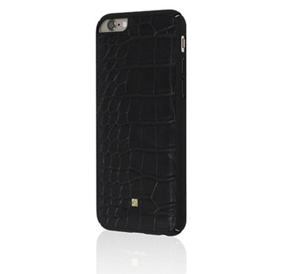 Чехол-накладка для iPhone 6/6s Just Must Croco Collection Dark Black -