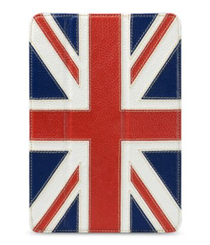 Кожаный чехол для iPad Mini Melkco Craft Britain Case -