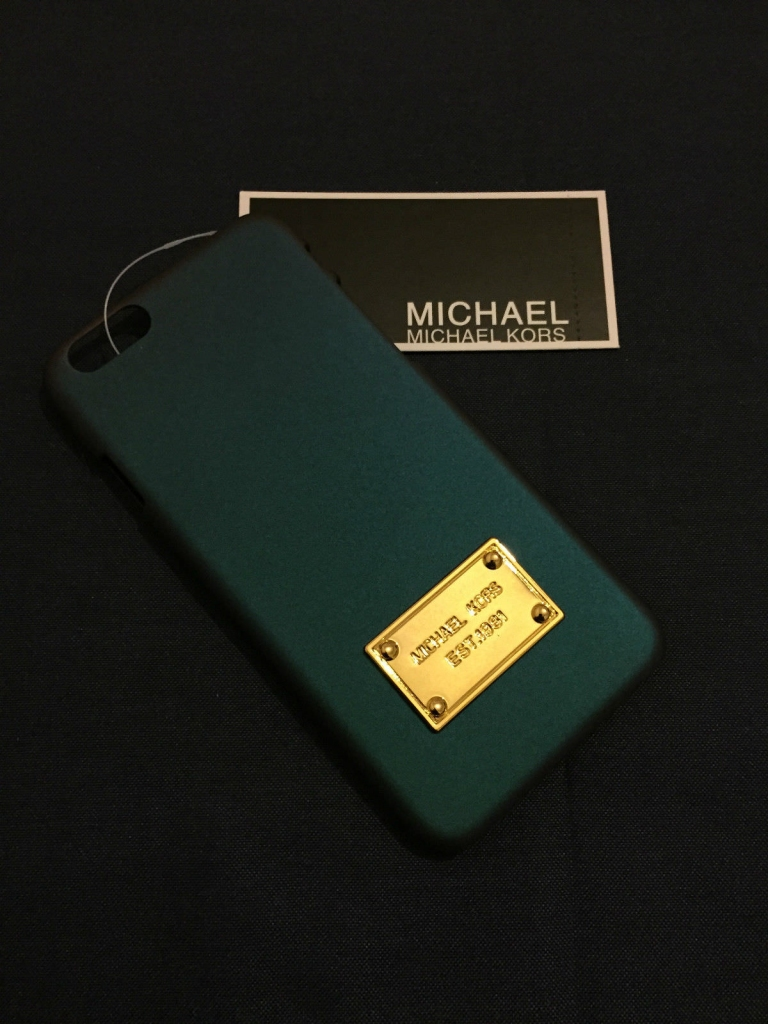 Синий чехол для iPhone 6 Plus Michael Kors Case -