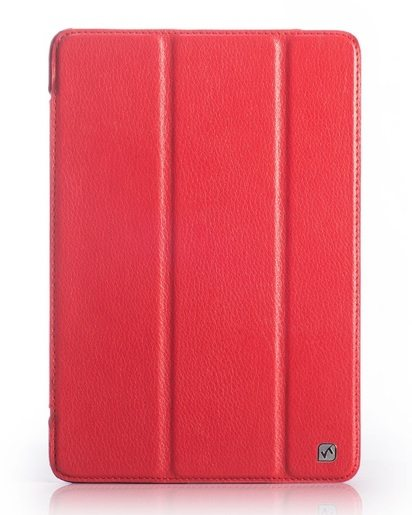 Красный чехол для iPad Mini/Retina HOCO Duke Leather Case -