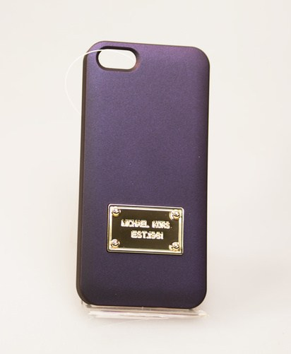 Синий чехол для iPhone 5/5s Michael Kors Case -