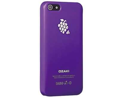 Чехол для iPhone 5/5s Ozaki O!coat Fruit Grape -