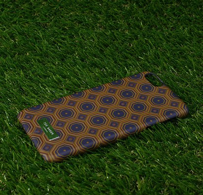 Чехол-накладка для iPhone 6 Plus Ted Baker Brown Pattern -