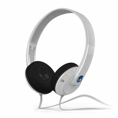 Наушники Skullcandy Uprock White/Blue с микрофоном -