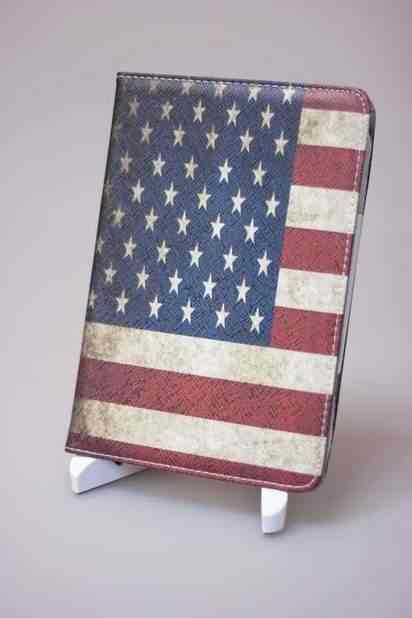 Чехол-книжка для iPad Mini/Retina USA Flag Case -