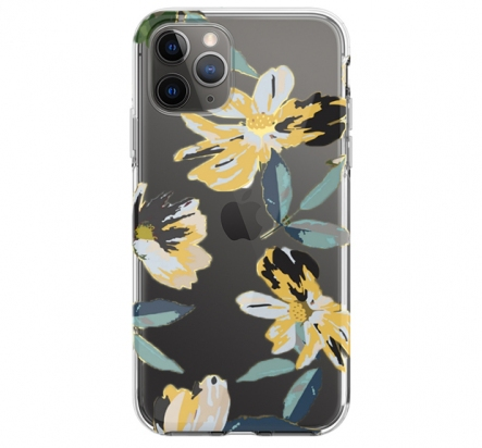 Чехол для iPhone 11 Pro Perfume Lily Series Case Yellow -