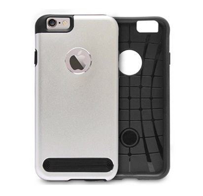 Серебристый чехол для iPhone 5/5s Motomo ESM Armor -
