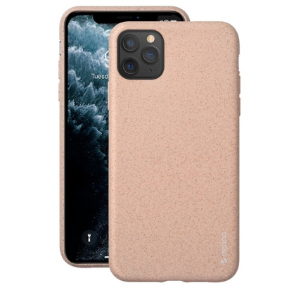 Чехол для iPhone 11 Pro Max Deppa Eco Case пудровый -