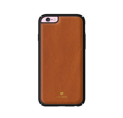 Чехол-накладка для iPhone 6/6s Just Must Armour Collection Brown -