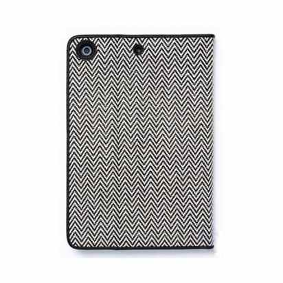Чехол-книжка для iPad mini/Retina Zenus Herringbone Diary Black -