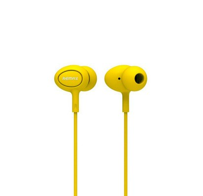 Наушники с микрофоном Remax 515 Earphone (желтые) -