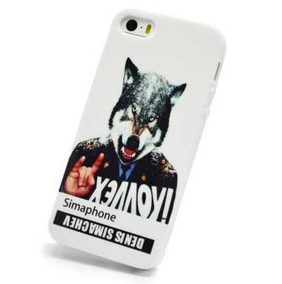 Силиконовый чехол для iPhone 5/5s Denis Simachev Werewolf In Shoulder Loops -