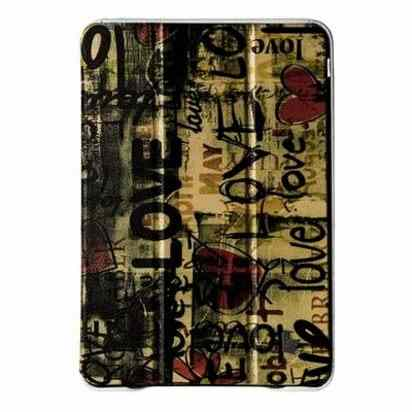 Кожаный чехол для iPad Air JisonCase Smart Love Case -