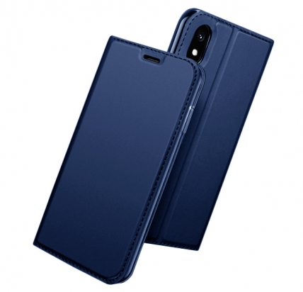 Чехол-книжка для iPhone XR DZgogo Blue -