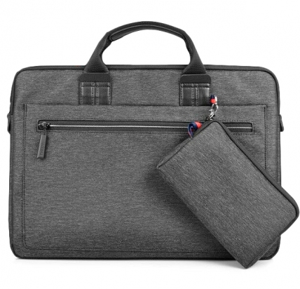 Серая сумка для Macbook Air/Pro 13 WiWU Anthena Carrying Bag -