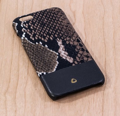 Чехол-накладка для iPhone 6/6s Plus OCCA Explore Collection Black -