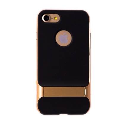 Чехол-накладка для iPhone SE/8/7 Rock Royce Kickstand Champagne -