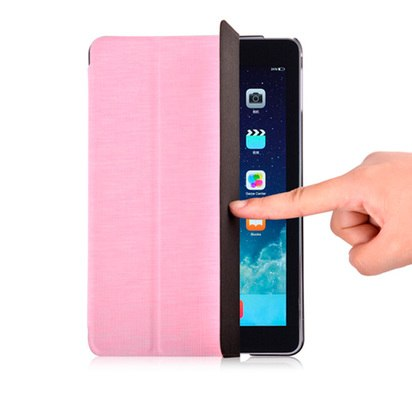 Чехол-книжка для iPad Mini 4 Vouni Simple Grace Pink -