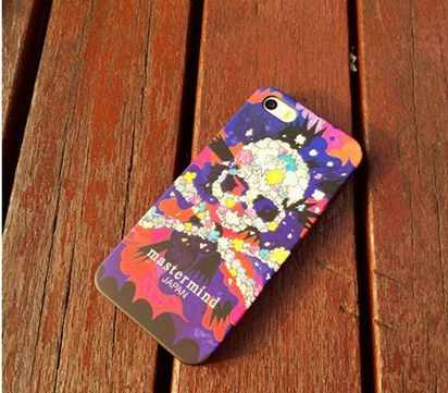 Чехол-накладка для iPhone 6 Mastermind Japan Skull Multicolor Case -