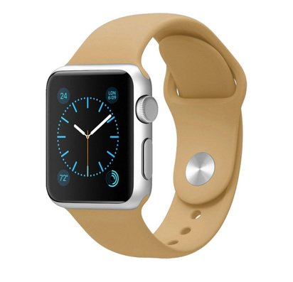 Ремешок для Apple Watch 42mm Brown Sport Band analog -