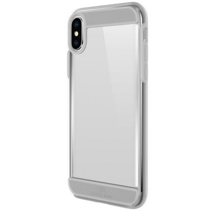 Противоударный чехол для iPhone XS Max Black Rock Air Robust Transparent -