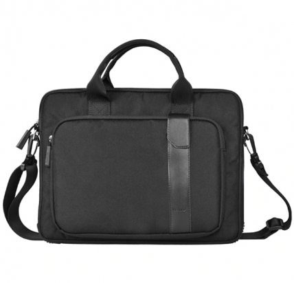 Черная сумка для Macbook Air/Pro 13 WiWU Decompression Computer Bag -