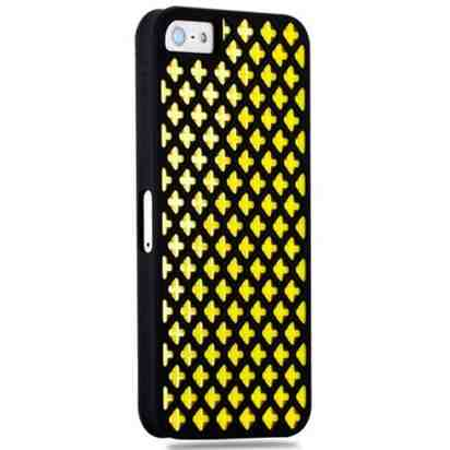 Чехол для iPhone 5/5s Momax iMesh Yellow Case -
