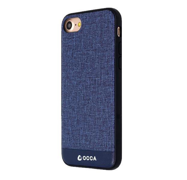Купить Чехол-накладка для iPhone 7/8 Occa Empire Collection Navy, Синий, Комбинированный