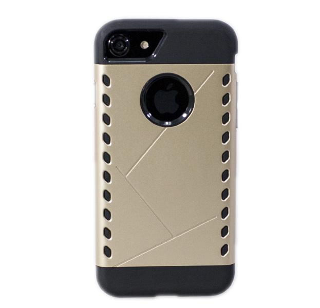 Купить Золотистый противоударный чехол для iPhone 7/8 Aegis Case, Золотой, Пластик