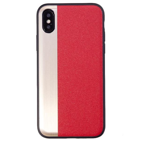 Купить Чехол-накладка для iPhone X/XS Comma Jazz Case Red/Gold, Золотой, TPU