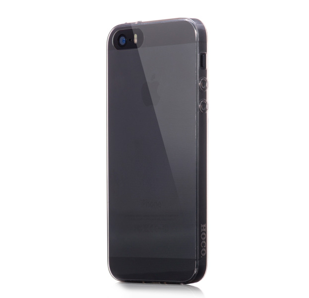 Купить Черный силиконовый чехол для iPhone 5/5s Hoco Light
