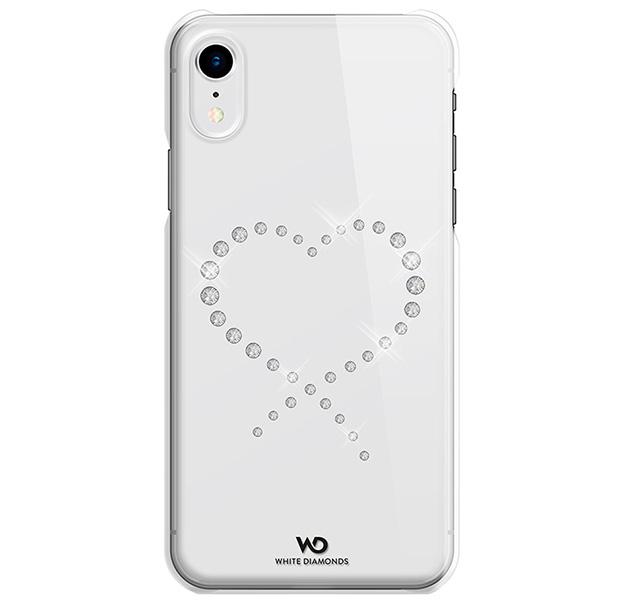 Купить Прозрачный чехол-накладка для iPhone XR White Diamonds Crystal, Со стразами