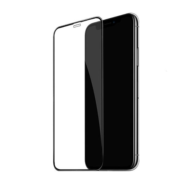 Купить Черное защитное стекло для iPhone XS Max Hoco Shatter-Proof 3D Tempered Glass
