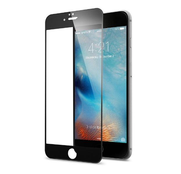 Купить Черное защитное стекло для iPhone 7/8 Plus Full Frame 3D Tempered Glass