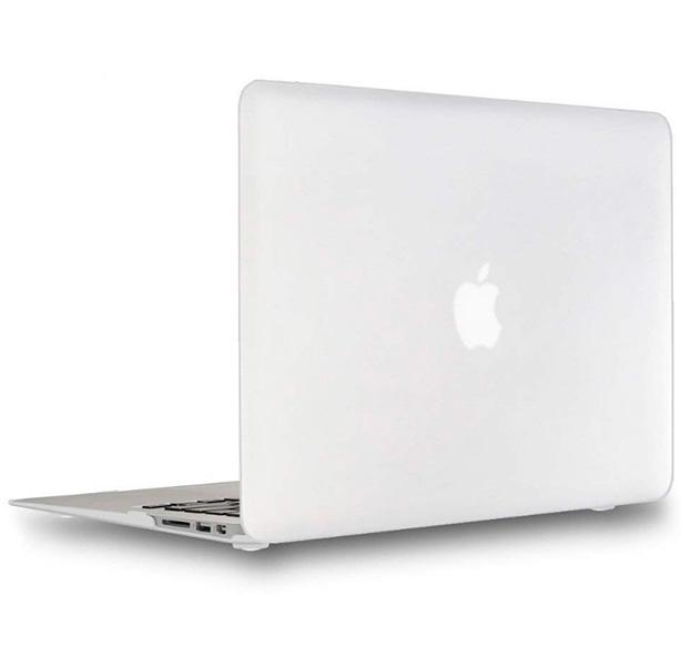 Купить Белая пластиковая накладка для Macbook Air 13 , Белый, Пластик