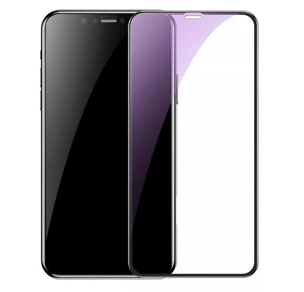 Купить Черное защитное стекло для iPhone XR Remax Emperor Anti Blue-Ray Series 2, 5D
