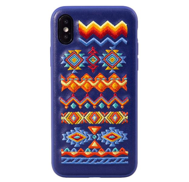 Купить Чехол-накладка для iPhone X/XS Devia Flower Bohemian, С рисунком, TPU