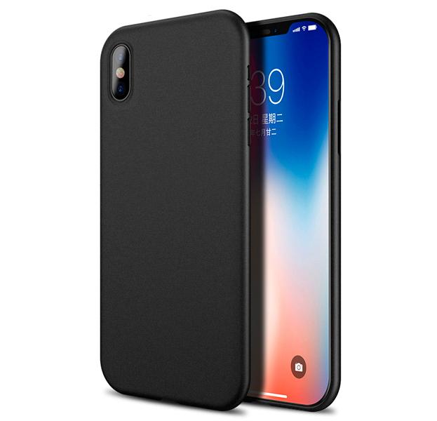 Ультратонкий чехол-накладка для iPhone XS Max Devia Naked Ultra Thin Case Black