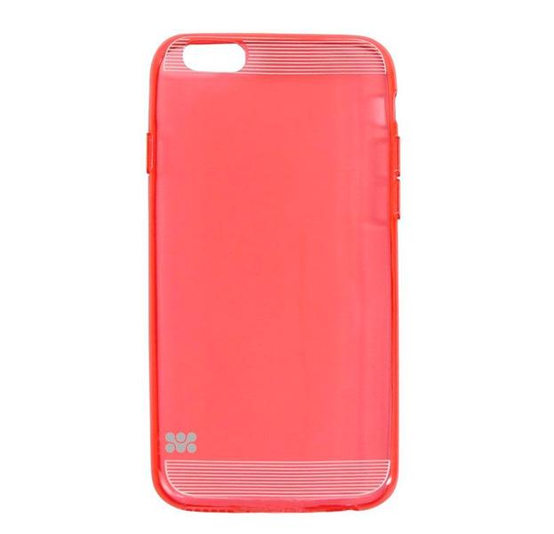 Купить Силиконовый чехол-накладка для iPhone 6/6s Promate Bare Red, Красный
