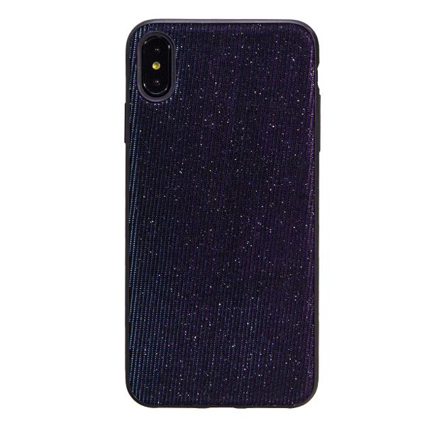 Купить Чехол-накладка для iPhone XS Max Black Chameleon Diamond Case, Черный, Резина