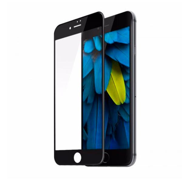 Купить Черное защитное стекло для iPhone 7/8 Full Frame 3D Tempered Glass