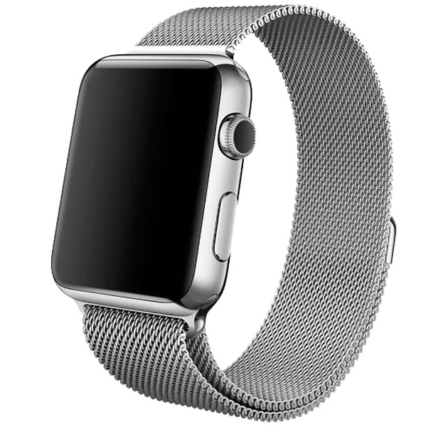 Купить Металлический ремешок Milanese Band для Apple Watch 38/40 mm серебристый, Сталь