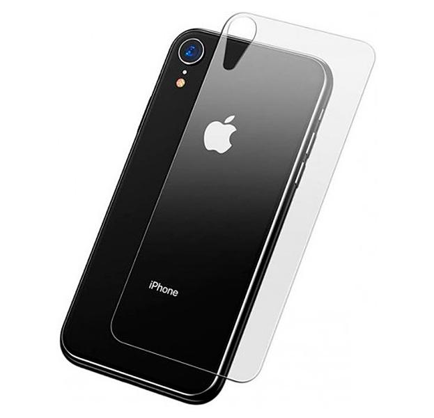 Купить Защитное стекло на заднюю крышку для iPhone XR Baseus Rear Protector