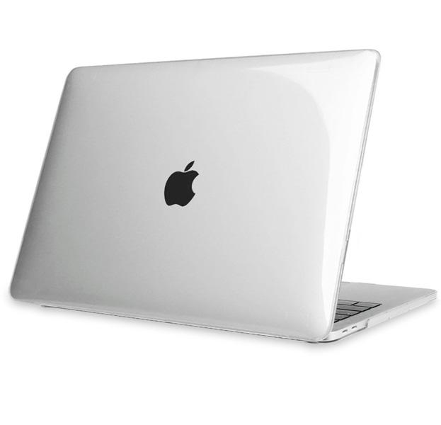 Купить Прозрачная пластиковая накладка для Macbook Pro 13 2016/2017 Hard Shell Case, Прозрачный, Силикон